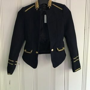 Zara Military Wool Jacket Limited Edition